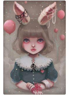 Juliette, balloons
