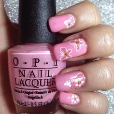 Day 8 for @gelulicious #gellichallenge #31daynailchallenge is Pink - my absolute favourite colour!!  #elbienails
