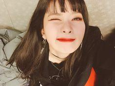 """Instagram Red Velvet Official Instagram (@redvelvet.smtown): """"슬기생일 곧 끝나요!!! 축하해주신 모든분들 감사하고 사랑합니다~~~ 행복한 하루였어요~~~#윙꾸 #슬기생일#끝#"""""""