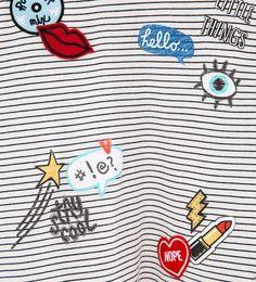 Camiseta parches-Ver Todo-CAMISETAS-NIÑA   4-14 años-NIÑOS   ZARA España