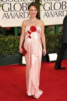 Natalie Portman Style, Nathalie Portman, Strapless Dress Formal, Formal Dresses, Pregnancy Looks, Red Carpet Looks, Party Looks, Red Carpet Dresses, Golden Globes