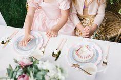 Mermaid backyard birthday party by Beijos Events