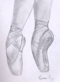 How to Draw Ballet Shoes (with Ballerina Drawing, Ballet Drawings, Dancing Drawings, Pencil Art Drawings, Art Drawings Sketches, Easy Drawings, Dancer Drawing, Ballerina Project, Pointe Shoes Drawing
