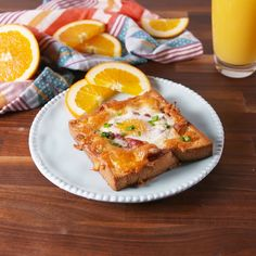 Step aside, egg-in-a-hole! Delicious Breakfast Recipes, Brunch Recipes, Gourmet Recipes, Cooking Recipes, Bacon Egg Recipes Breakfast, Breakfast Dishes, Best Breakfast, Breakfast Toast, Savory Breakfast