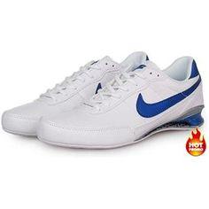 www.asneakers4u.com Mens Nike Shox R2 White Blue