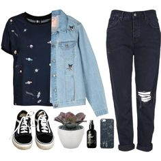 Eva by soym on Polyvore featuring Topshop, Vans and Torre & Tagus