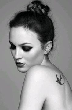 Leighton Meester...don't really know if it classifies as artistic photography but this photo is just beautiful