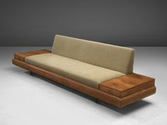Adrian Pearsall Customizable Platform Sofa For Sale at Diy Sofa, Diy Furniture Couch, Home Decor Furniture, Furniture Online, Rustic Furniture, Furniture Storage, Modern Furniture Design, Furniture Ideas, Medieval Furniture