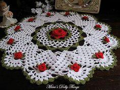 Posts about Crochet written by fabinho Crochet Kitchen, Crochet Home, Crochet Crafts, Diy Crochet, Crochet Projects, Crochet Bolero Pattern, Crochet Doily Patterns, Crochet Squares, Thread Crochet