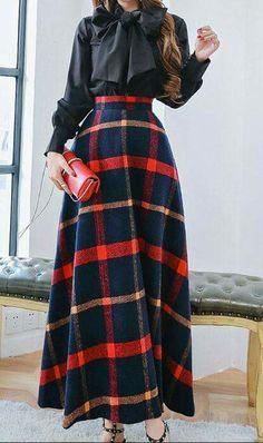 Very cute plaid skirt