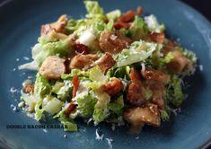 Chopped Salad with Bacon Honey Mustard