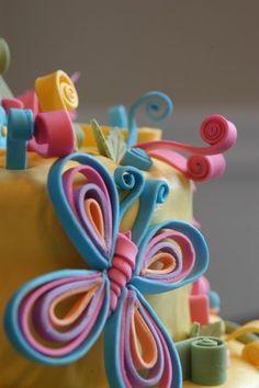 quilling cake - Pesquisa Google