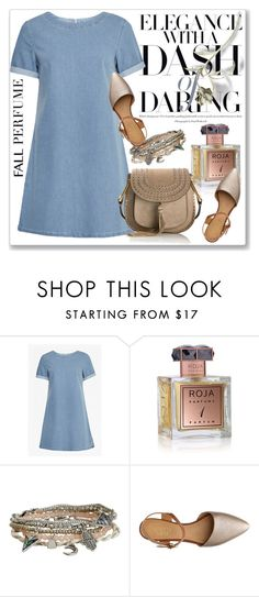 """""""Fun Fall Fragrance"""" by andrejae ❤ liked on Polyvore featuring French Connection, Roja Parfums, Aéropostale, Franco Sarto, Chloé and fallperfume"""