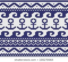 , The Effective Pictures We Offer You About perlmuster stricken A qua Knitting Charts, Knitting Socks, Knitting Stitches, Baby Knitting, Fair Isle Chart, Fair Isle Pattern, Summer Knitting, Fair Isle Knitting, Cross Stitch Patterns