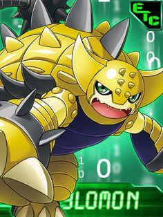 Ankylomon Digimon Collectors card