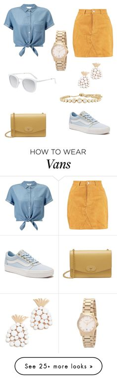 """Untitled #11260"" by alexia-andra on Polyvore featuring Boohoo, Miss Selfridge, Vans, Mulberry, Smoke x Mirrors, For Love & Lemons and Gucci"