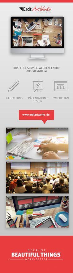 Erdt ArtWorks -  Ihre Full-Service Werbeagentur aus Viernheim. #werbeagentur #design #viernheim #präsentationen #flyer #logo #website #prezi