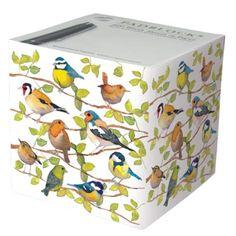 GARDEN BIRDS - Emma Ball Designer Padblock - 800 Sheets: Amazon.co.uk: Office Products Cubes, Decorative Objects, Decorative Boxes, British Garden, Office Branding, Bird Design, Wren, Decoration, Stationery