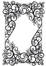 Pre-Order Sue Wilson Foam Mounted Cling Stamps - Woven Leaves