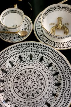 Introducing Insect Mandala China from The Curious Department - Swoon Worthy
