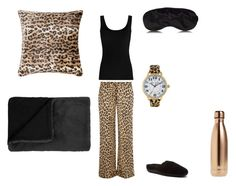 """""""leopard sleep set"""" by peachpiefromheaven ❤ liked on Polyvore featuring Equipment, Twenty, Acorn, Etro, S'well and Betsey Johnson"""
