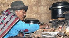 THE oldest woman in the world at 116 says the secret to her longevity lies in a Peruvian mountain diet.