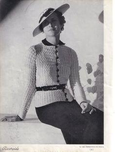 belted waist {1930's}