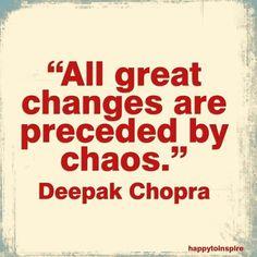 Chaos and panic attacks