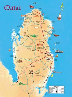 Map of qatar google maps yahoo image search results qatar quatar lived here in it is the most tolerant of all the arab countries gumiabroncs Gallery