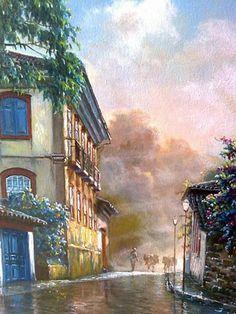 JOSÉ ROSÁRIO: AS QUATRO ESTAÇÕES: Dicas para pintura de paisagens (José…