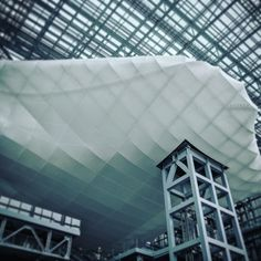 Fuksas's cloud: really impressive from outside.