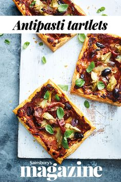 Use storecupboard ingredients to whip up this quick Italian-inspired antipasti tartlets recipe Vegetarian Starters, Vegetarian Recipes, Cooking Recipes, Pork Recipes, Recipies, Easy Starters Dinner Party, Italian Lunch, Italian Night, Dinner Party Recipes