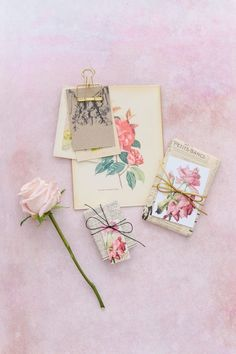 Floral printable gift tags | Papermash