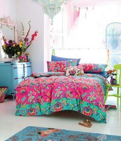 estupendo dormitorio infantil de estilo boho