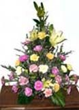 Flower basket suitable for condolence for Hyderabad delivery. We deliver fresh flowers to Hyderabad on your special occasions. Visit our site : www.flowersgiftshyderabad.com/Condolence-to-Hyderabad.php