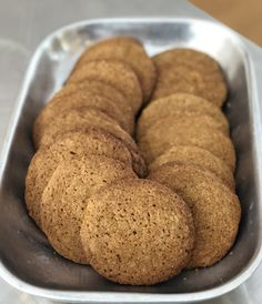 molasses cornmeal cookies