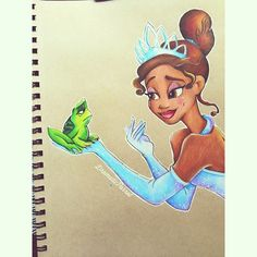 Tiana by dramaticparrot on Instagram