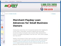 Small business owners face a lot of unexpected expenses when navigating the current market. Unfortunately, sometimes traditional loans and savings accounts are simply not enough to keep a business afloat, leaving business owners in a struggle to find funding to cover their costs. That's where a payday loan may come in.