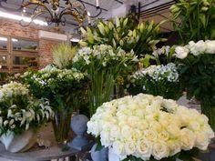"""JF Floral Couture: An Afternoon at Eric Chauvin's """"Un Jour de Fleurs"""" Florist Shop Interior, Flower Shop Interiors, Most Beautiful Flowers, Garden Shop, Fresh Flowers, Wedding Bouquets, Floral Design, Art Floral, Flower Shops"""