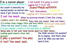 Soccer girls can relate