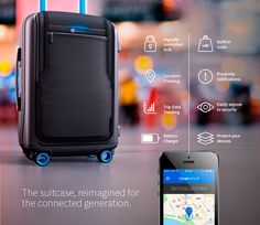 Welcome #Bluesmart the First Ever Digital #Suitcase Packed with a World of Smart Features