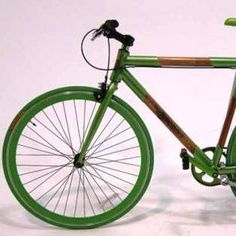 Assembled in China from native bamboo and recycled 6160 aluminum tubing gussets, this bike frame seemed the perfect complement to the ZeHus motor. Mother Earth News, Cargo Bike, Bike Frame, Gift List, Transportation, Bamboo, Recycling, Santa, Letters