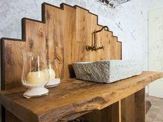 Badezimmermöbel nussbaum ~ Edel im badezimmer: landhausdiele nussbaum geschliffen geölt: von