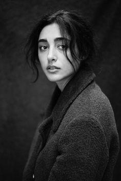 Model : Golshifteh Farahani  Photographer: Mathieu Cesar