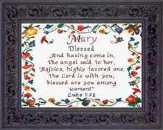 Name Blessings - Mary