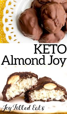 Keto Mint Chocolate Strawberry Fat Bomb are dairy free, peanut butter free and gluten-free. It makes the perfect snack and dessert. Low Carb Candy, Keto Candy, Almond Joy, Real Food Recipes, Keto Recipes, Dessert Recipes, Keto Cookies, Cookies Et Biscuits, Keto Friendly Desserts
