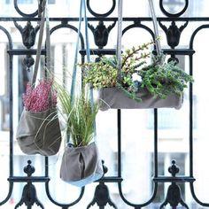 Handbag plant hangers