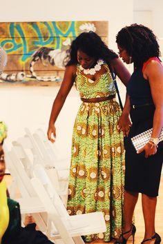 African Fashion Week Chicago  Photo: Lola Adekunle