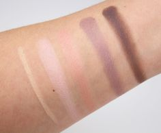 bareMinerals Modern Pop Collection Swatches and Review -  The Modern Icon Eyeshadow Quad and Classic Cream Eyeliner
