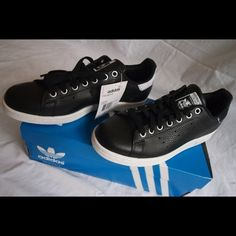 Adidas by Rita Ora Stan Smith Smoke black sneakers Brand new authentic  Adidas Stan Smith shoes e817a61a43eea